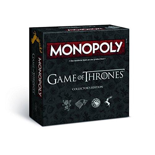 Monopoly Game of Thrones Collector's Edition – Das Spiel zur angesagten Serie (Deutsch)