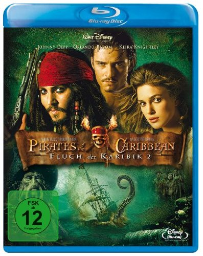 Pirates of the Caribbean - Fluch der Karibik 2 [Blu-ray]
