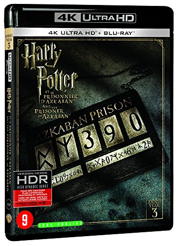 Harry potter 3 : le prisonnier d'azkaban 4k ultra hd [Blu-ray] [FR Import]