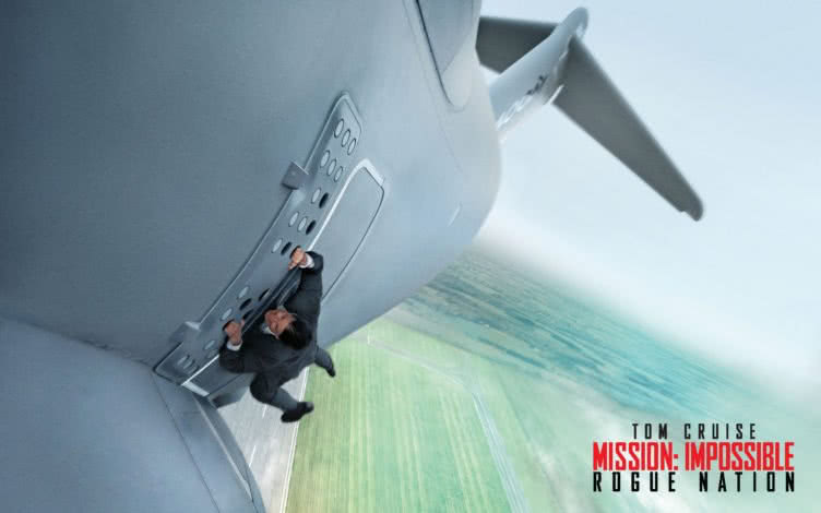 Mission Impossible Rogue Nation Cover
