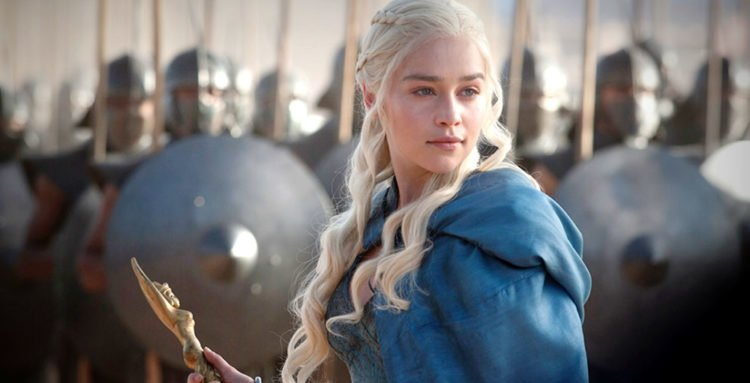 Daenerys Targaryen und Unbefleckte in Game of Thrones - Staffel 3