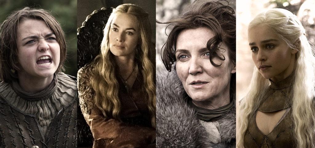 Arya Stark Catelyn Stark Cersei Lennister Daenerys