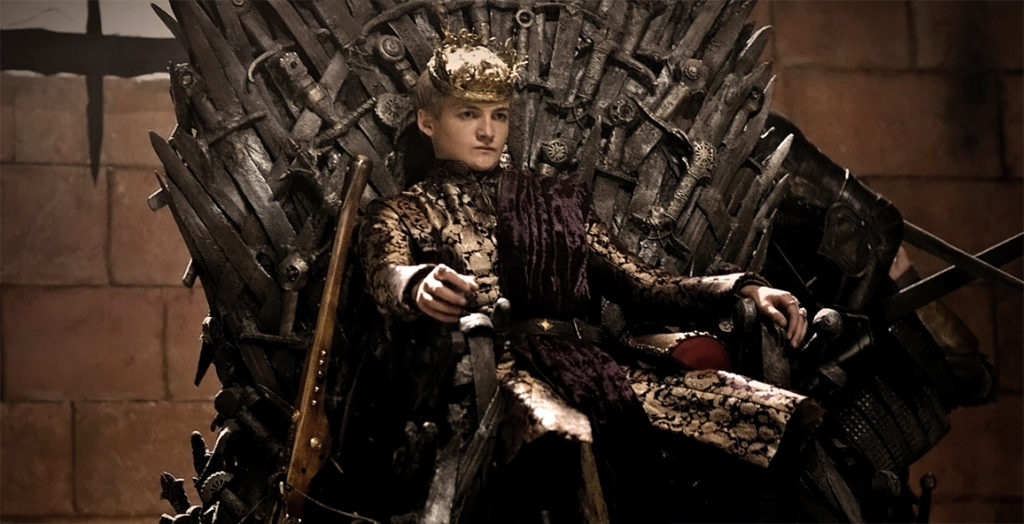 Jack Gleeson als Joffrey Baratheon in Game of Thrones - Staffel 2