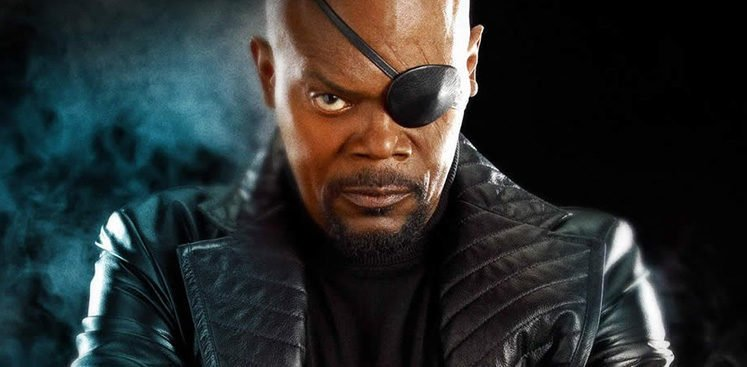 Samuel Jackson in Return of The First Avenger