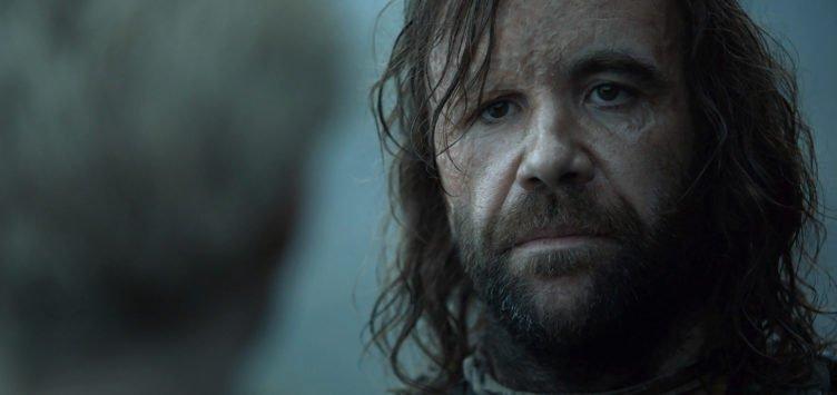 Rory McCann als der Bluthund Sandor Clegane in Game of Thrones - Staffel 4