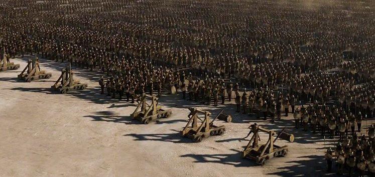 Armee der Unbefleckten in Game of Thrones - Staffel 4