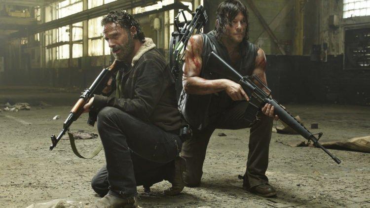 Fanlieblinge Daryl Dixon und Rick Grimes aus The Walking Dead in Staffel 6 wieder Seite an Seite