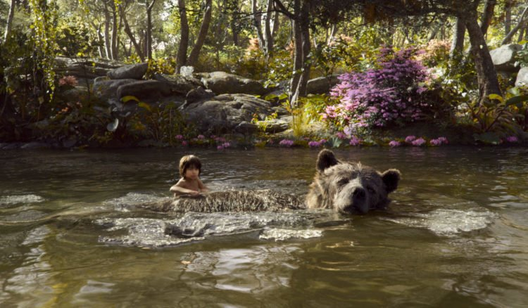 Balu und Mogli in The Jungle Book 2016