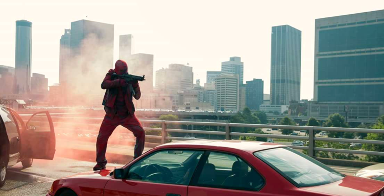 Deadpool in Triple 9