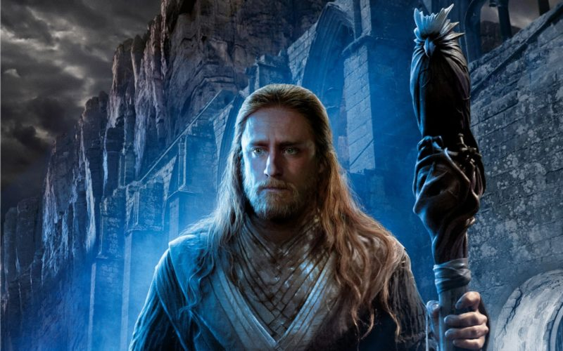 Ein Poster von Ben Foster als Medivh in Warcraft: The Beginning