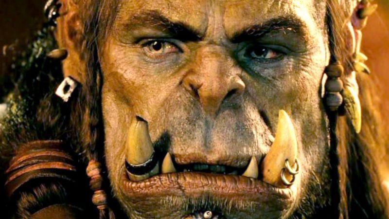 Durotan (Toby Kebbell) aus einer Szene in Warcraft: The Beginning