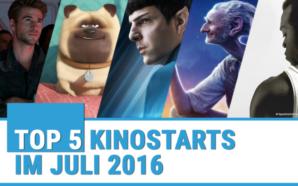 Top Kinofilme Juli 2016