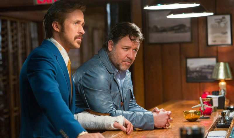 The Nice Guys mit Ryan Gosling und Russell Crowe
