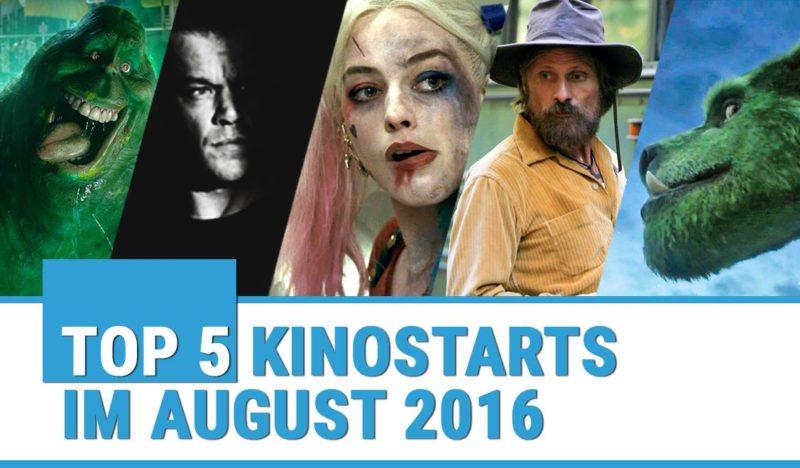 Top Kinofilme August 2016