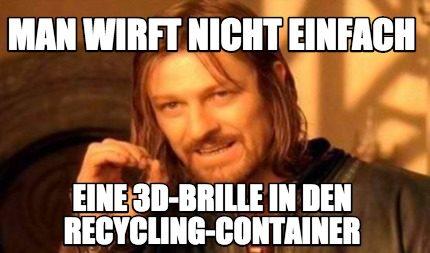 Ein Meme mit Boromir: