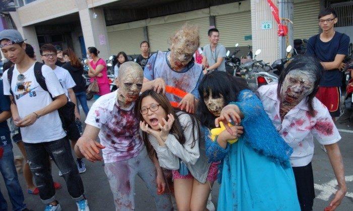 Werbung für The Walking Dead auf Märkten in Asien