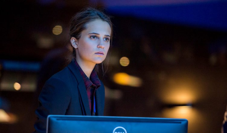 Alicia Vikander in Jason Bourne (2016)