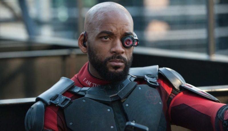 Deadshot (Will Smith) wartet im Film Suicide Squad auf seinen Einsatz.