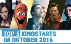Kinostarts im Oktober 2016