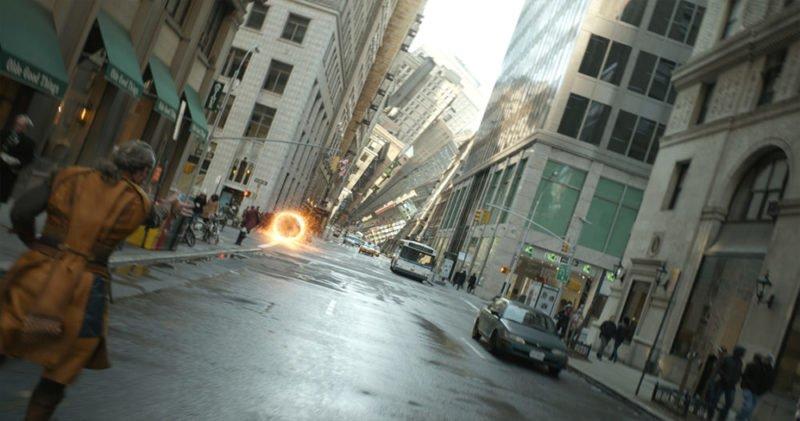New York verändert in Doctor Strange seine Form.