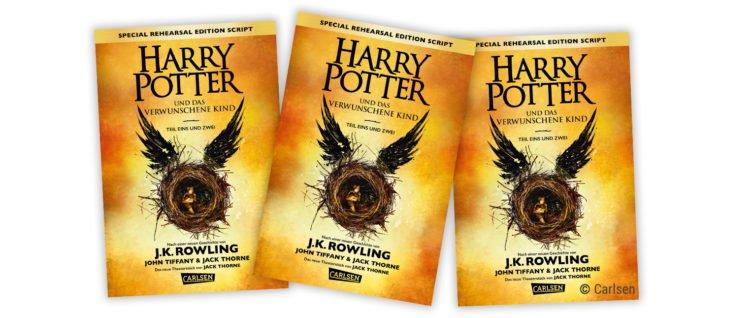 Cover von Harry Potter und das Verwunschene Kind