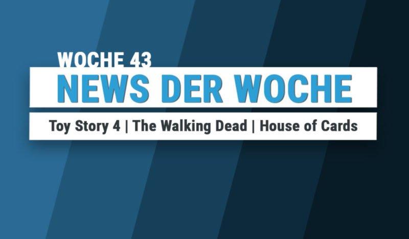 Film und Serien News der Woche 43 in 2016