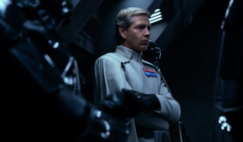 Ben Mendelsohn als Commander Orson Krennic in Rogue One
