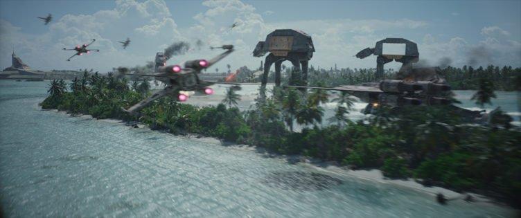 Kriegsschauplatz in Rogue One A Star Wars Story