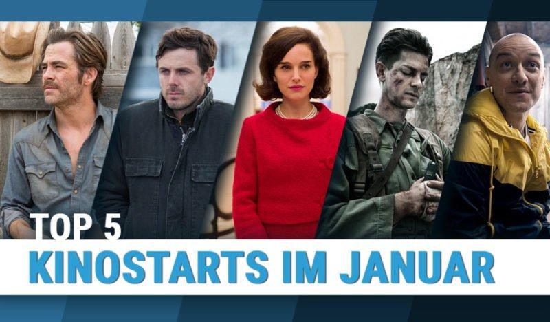 Filmstills der Top 5 Kinostarts im Januar 2017