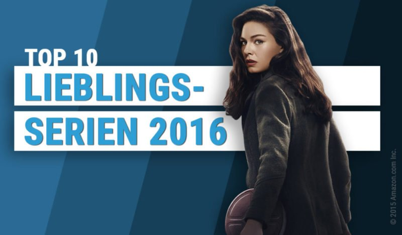 Beitragsbild für Topliste Top 10 Lieblingsserien 2016 von 4001 Reviews