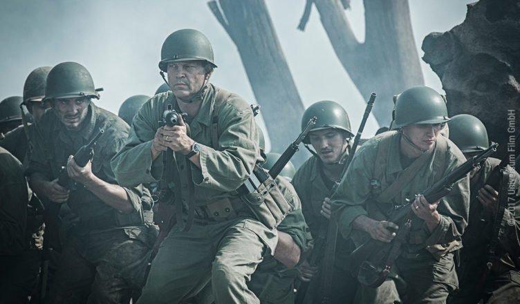 Sergeant Howell (Vince Vaughn) stürmt mit seinen Männern die japanischen Stellungen