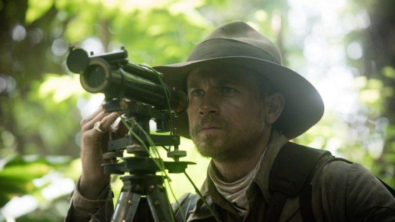 Charlie Hunnam im Dschungel in Die versunkene Stadt Z