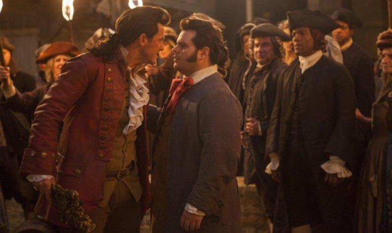 Gaston (Luke Evans) und Le Fou (Josh Gad) in Die Schöne und das Biest