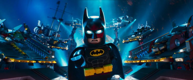 Die Legofigur Batman im Einsatz in The LEGO Batman Movie