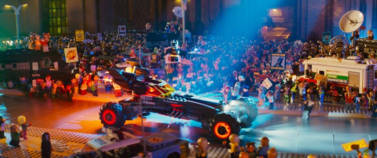 Die bunte Lego Welt Gothams in The Lego Batman Movie