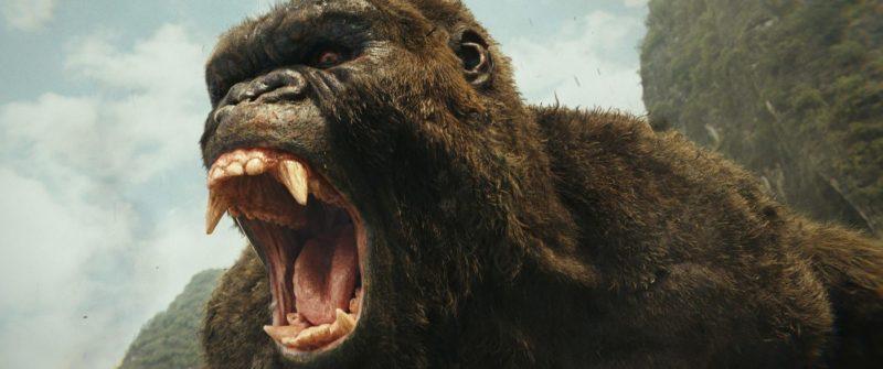King Kong brüllt in Kong: Skull Island