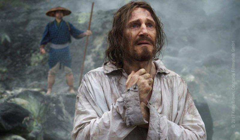 Liam Neeson in Silence von Martin Scorsese