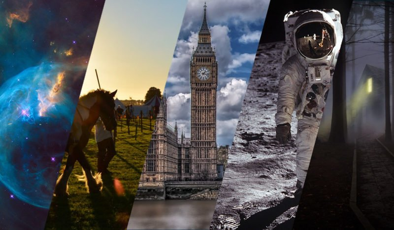 Besucht die Galaxie der Zukunft, Ritterspiele im Mittelalter, London in der Parallelwelt, den Mond im Jetzt und viele andere mystischen Plätze mit Doktor Who!