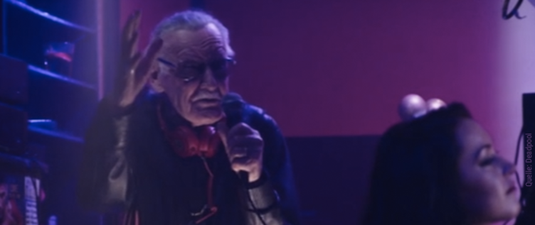 Comic-Autor Stan Lee als DJ in Deadpool