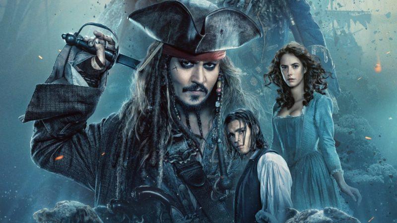 Titelbild für die Kritik Pirates of the Caribbean Salazars Rache mit Jack Sparrow, Henry Turner und Carina Smyth
