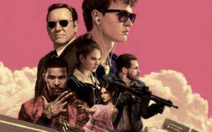 Titelbild von Kritik Baby Driver mit Kevin Spacey, Ansel Elgort, Eigort, Jon Hamm, Lily James, Jamie Foxx und Eiza González
