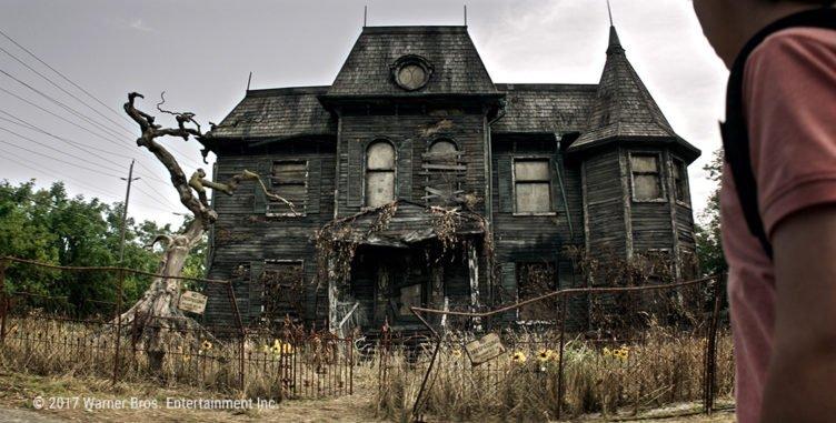 Das verfluchte Haus in dem Pennywise in Es 2017 wohnt
