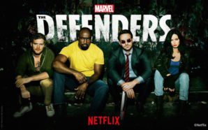 Defenders Titelbild für Kritik The Defenders Staffel 1 mit Iron Fist, Luke Cage, Daredevil und Jessica Jones