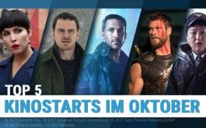 Top 5: Kinostarts Oktober 2017