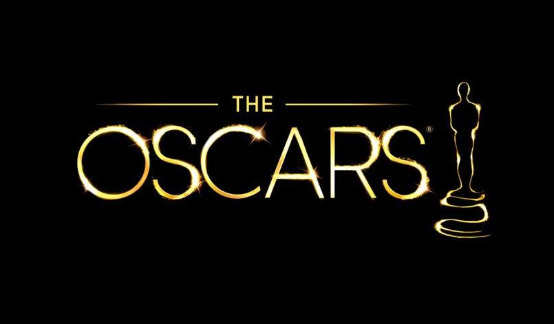 Logo der Oscars 2018 auf schwarzem Hintergrund