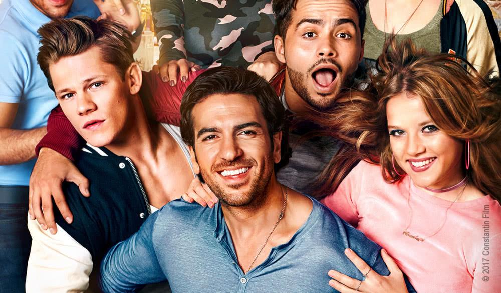 Elyas M'Barek, Jella Haase und andere Castmitglieder auf dem Hauptplakat zu Fack ju Göhte 3