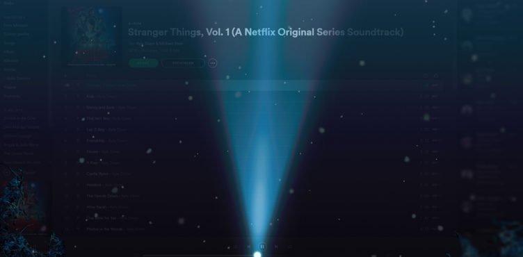 Spotify hat sich verdunkelt und sieht aus wie das Upside Down aus Stranger Things