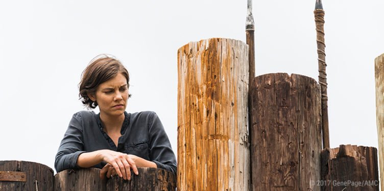 Lauren Cohen als Maggie in The Walking Dead 8 Folge 6