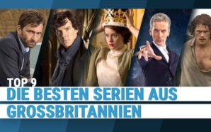 Britische Serien wie Broadchurch, Sherlock, The Crown, Doctor who und Outloander