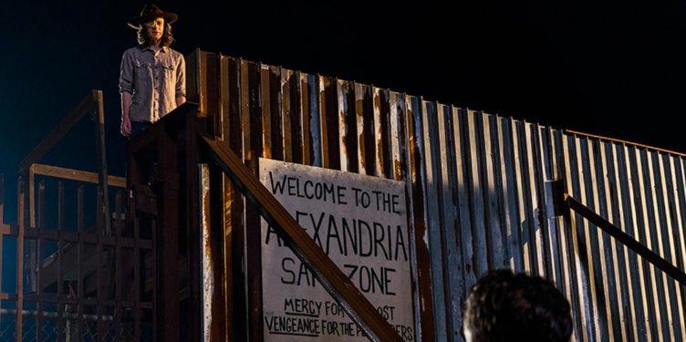 Chandler Ricks in The Walking Dead Staffel 8 Folge 8